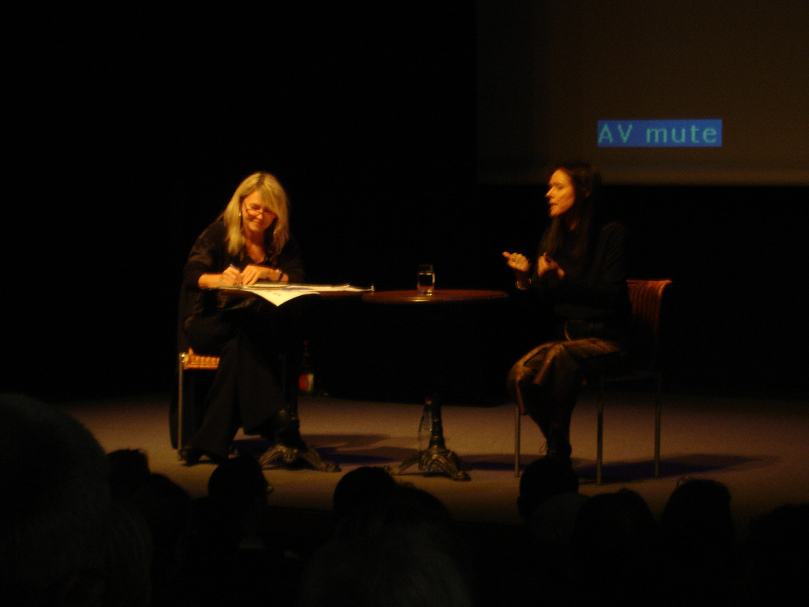 Conférence de Presse de Julie Taymor Le Roi Lion