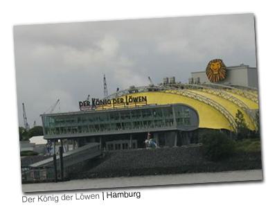 Der König der Löwen à Hambourg