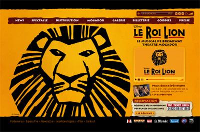 Le site web leroilion.fr