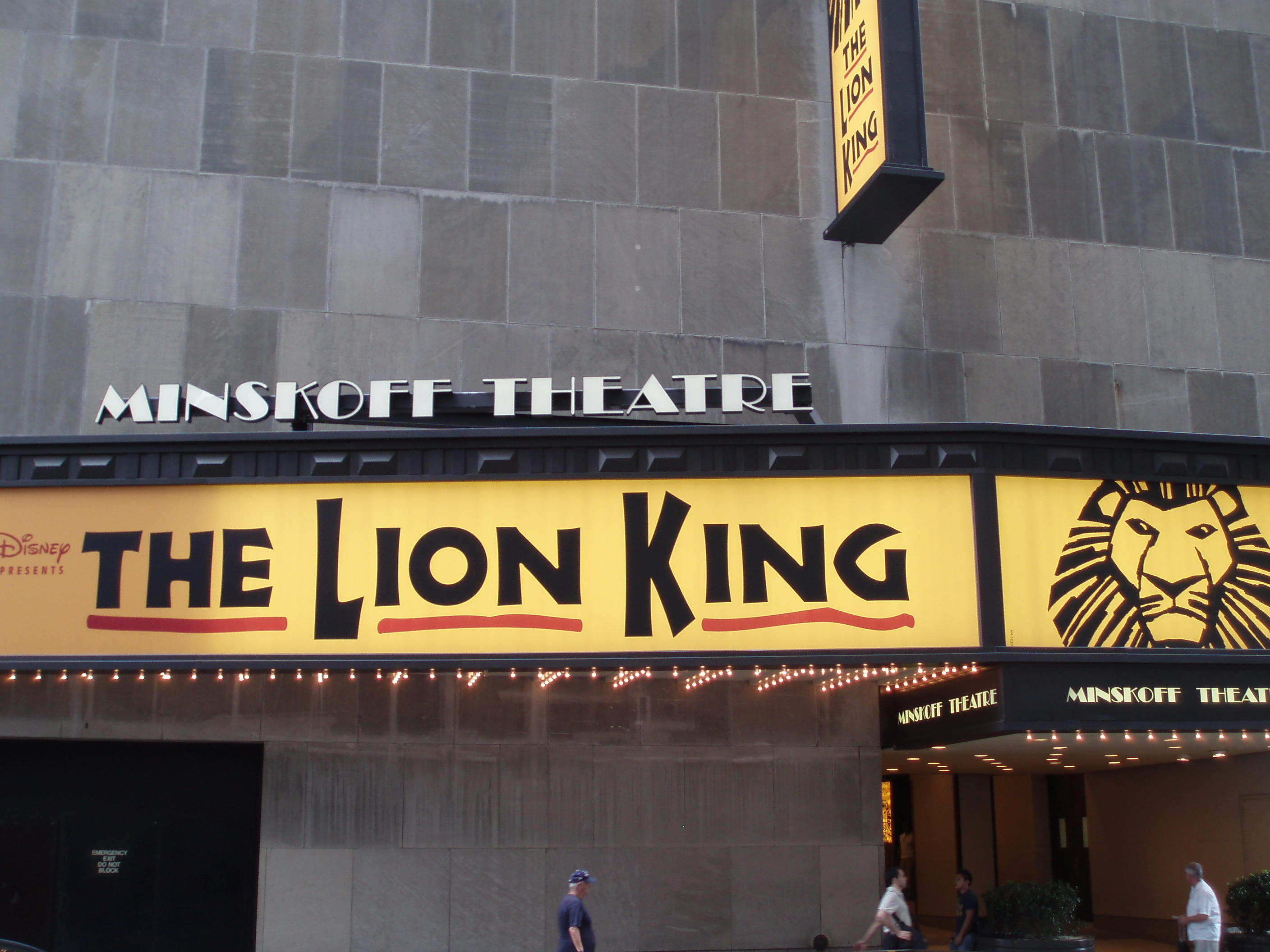 The Lion King - New York - Broadway