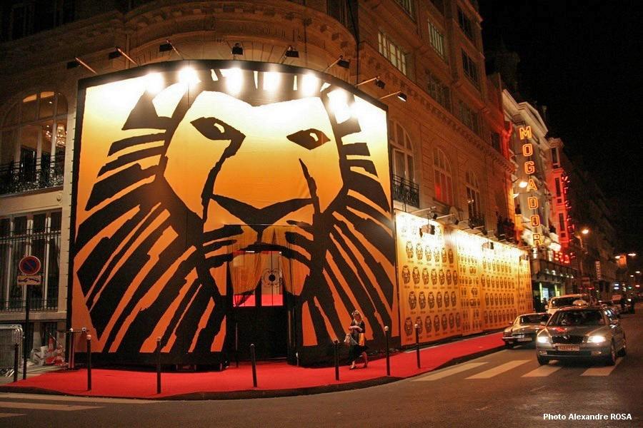 Le Roi Lion - Première
