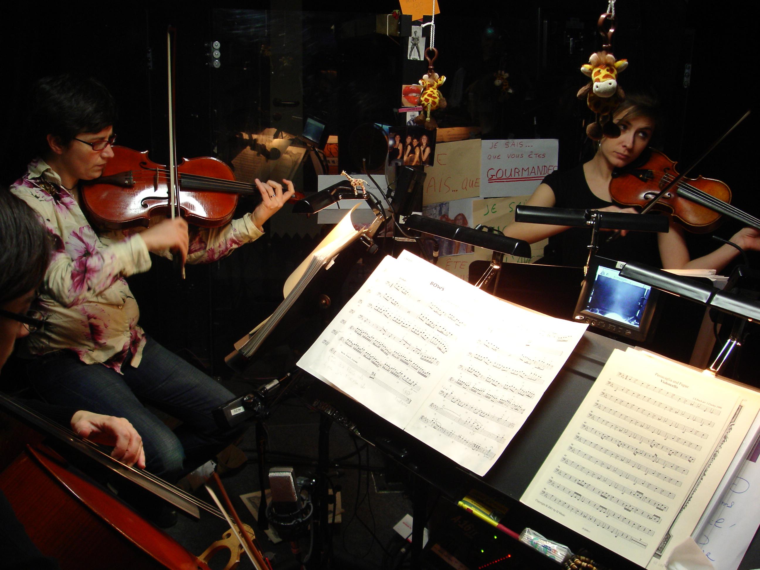 Quatuor à cordes - L'orchestre du Roi Lion