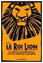 Le Roi Lion au Théâtre Mogador à Paris