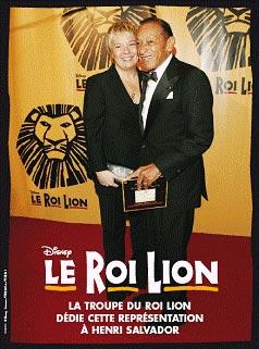 Henri Salvador - Grande Première du Roi Lion - 4 octobre 2007