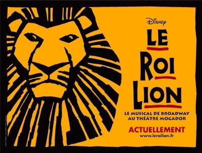 Le Roi Lion au Théâtre Mogador