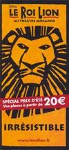 Le Roi Lion - Le succès de l'été