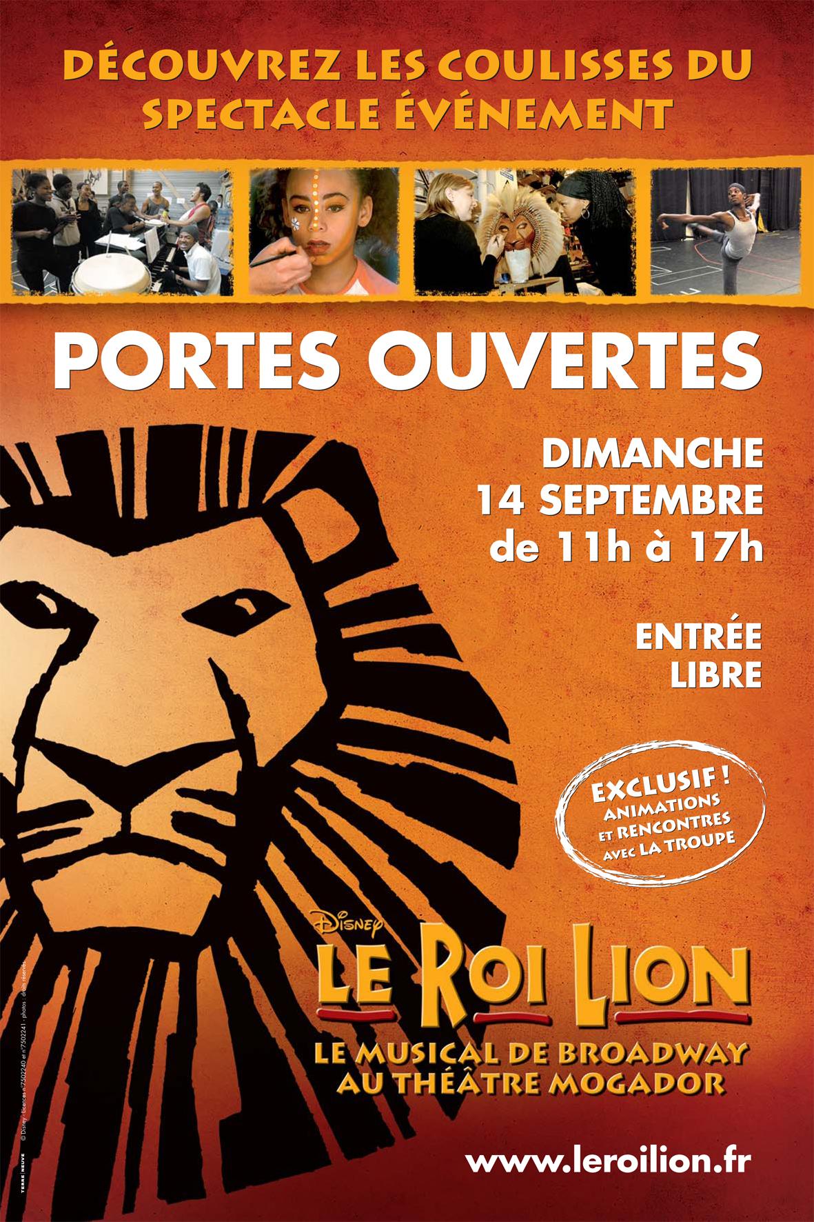 Portes ouvertes le dimanche 14 septembre au théâtre Mogador