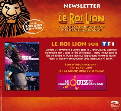 Le Roi Lion sur TF1